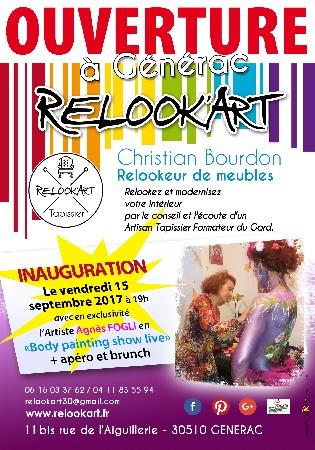 Ouverture Atelier Relook'Art